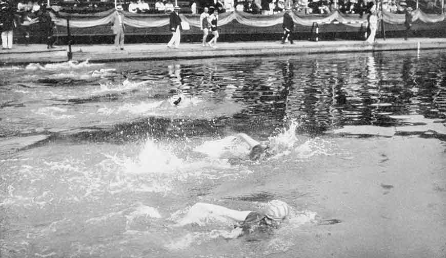 The Development Of Swimming Strokes