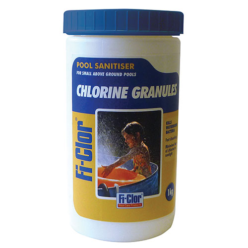 Fi-Clor Pool Sanitiser Chlorine Granules 1kg x 6