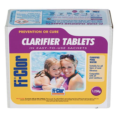 Fi-Clor Prevention & Cure Clarifier Tablets 1.25kg (Pack of 12 Sachets) x 12