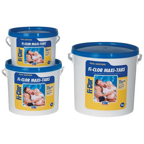 Fi-Clor Pool Sanitiser Maxi-Tabs 2.4kg x 6