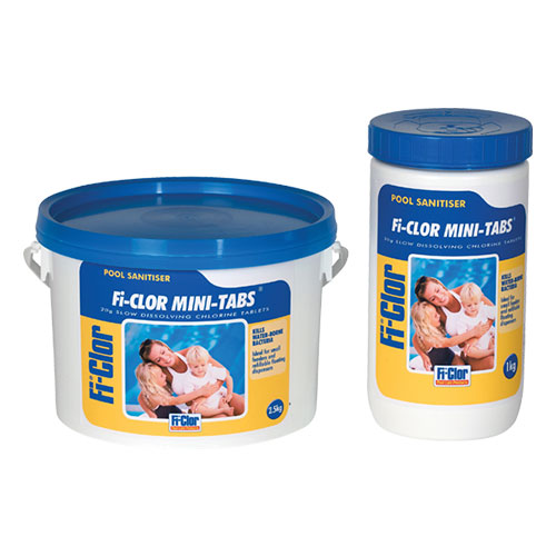 Fi-Clor Pool Sanitiser Mini-Tabs 2.5kg x 6
