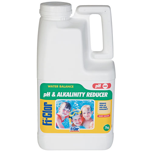 Fi-Clor Water Balance pH and Alkilinity Reducer 7kg x 2