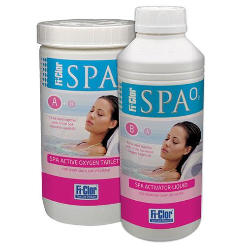 Fi-Clor Spa Active Oxygen Liquid 1 Litre x 6