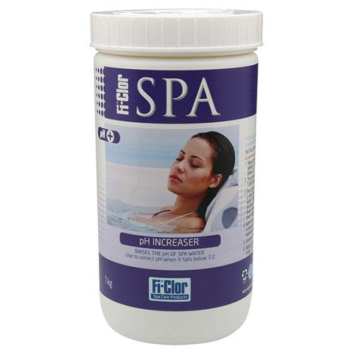 Fi-Clor Spa Soda Ash pH Increaser 1.2kg x 6