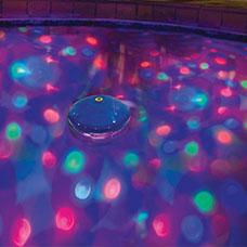Underwater Light Show Water Feature