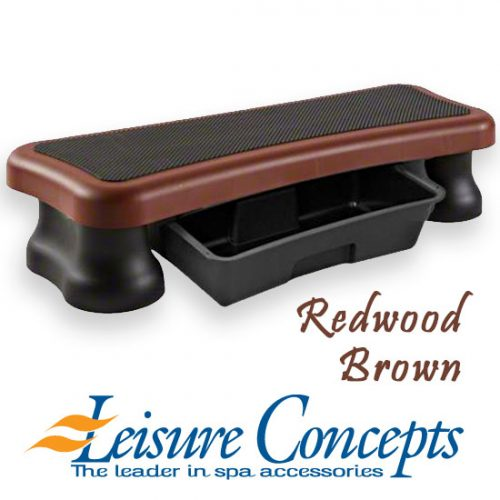 the-single-step-smartstep-junior-pool-and-spa-step-redwood-brown